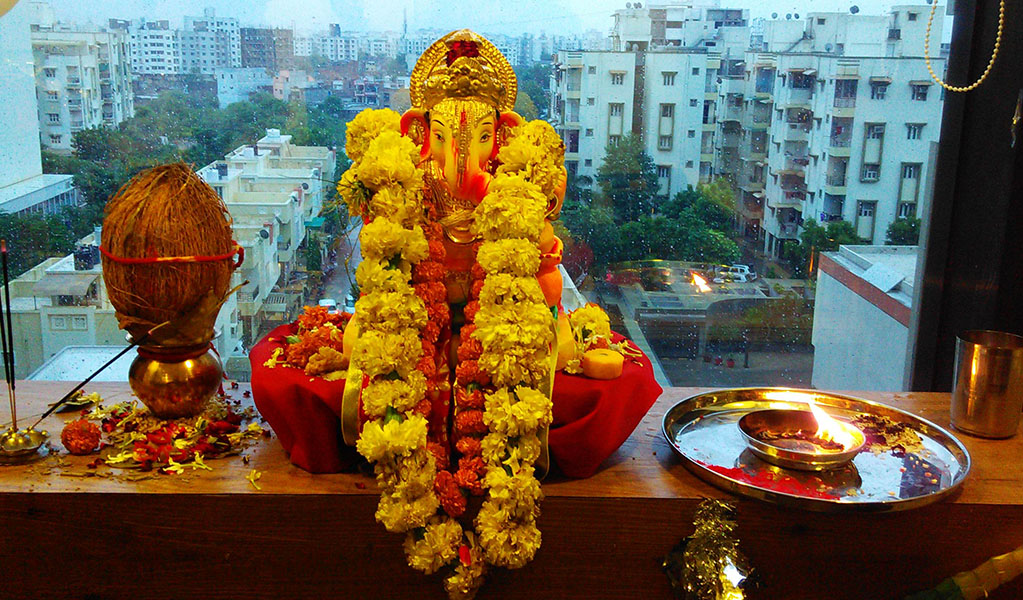 ​Ganesh Chaturti Celebrated @ HO in Ahmedabad